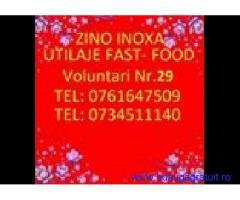 Utilaje Zino- zino inoxa / voluntari
