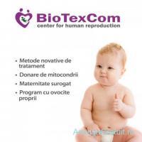 Centrul de reproducere umana BioTexCom ofera programe de FIV cu ovocite donate si programe de suroga