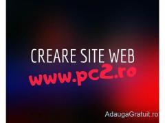 Creare Site Profesional