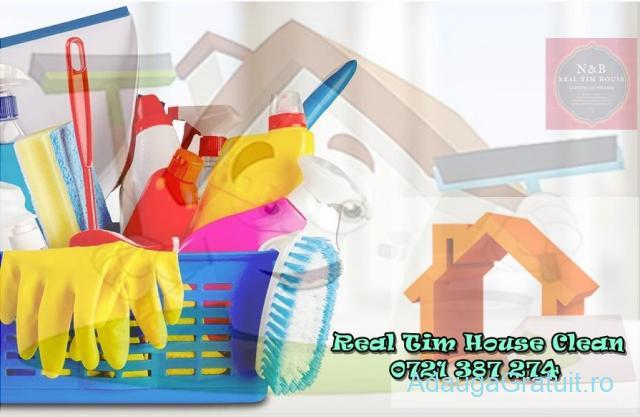 Servicii de curatenie profesionala in Timisoara